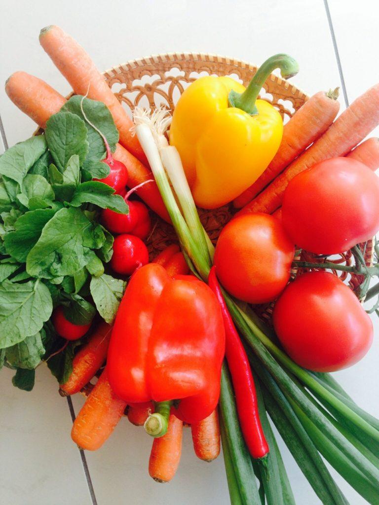 grönsaker dekoration